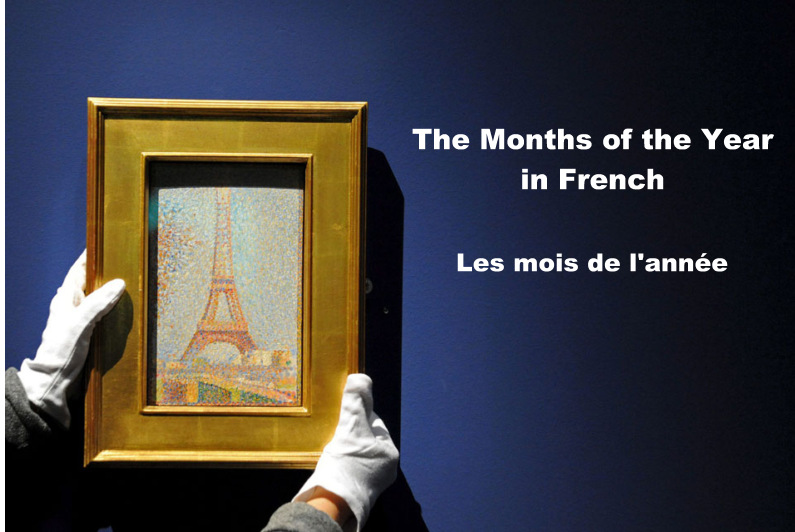 months of the year in french pdf