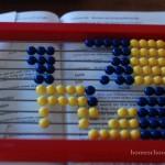 Right Start Mathematics abacus dog