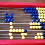 Right Start Mathematics abacus cat