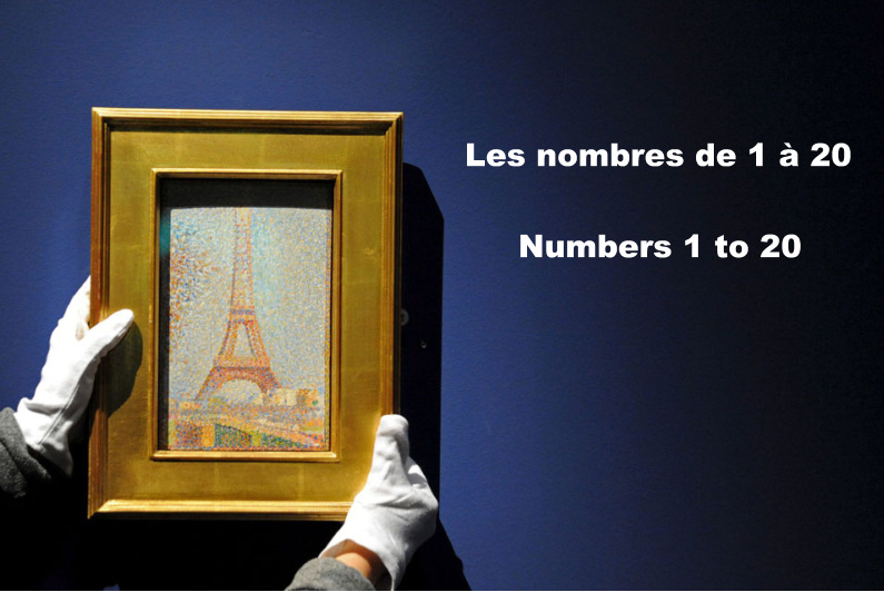 Numbers 1 to 20 in French, French Friday