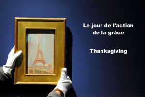 Thanksgiving vocabulary in French