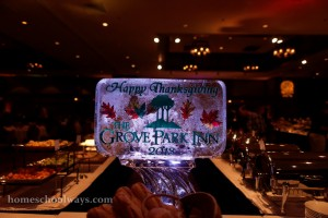 Grove Park Inn Icesculpture