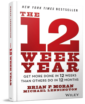 12-week year book by Brian Moran and Michael Lennington