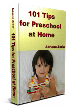 101 Tips for Preschool at Home is a Kindle book available for free download Feb 19-23, 2014.
