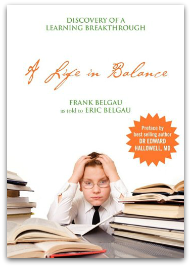 A Life In Balance book cover, by Frank Belgau