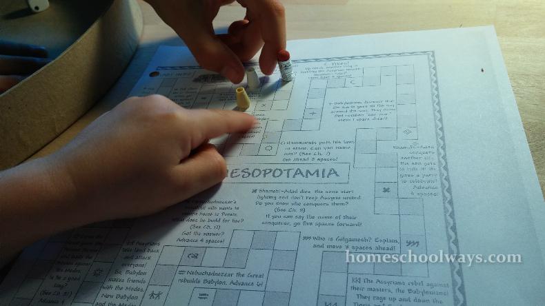 Conquer Mesopotamia Board Game