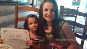 Certificate of Completion Homeschool