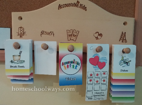 Accountable Kids board and cards