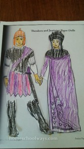 Justinian and Theodora Paper Dolls