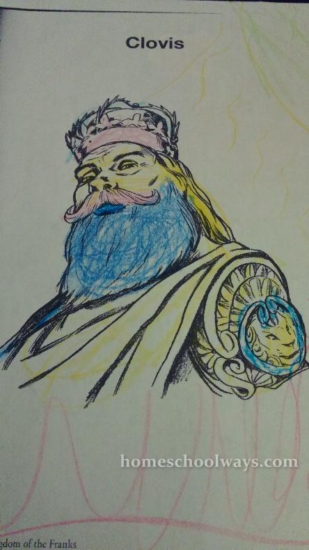 Clovis Coloring Page