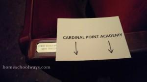 Cardinal Point Academy sign
