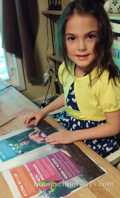 Girl with Sparkle magazine