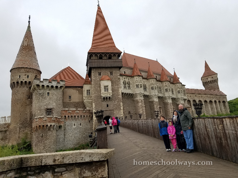 Hunedoara Castle in Romania