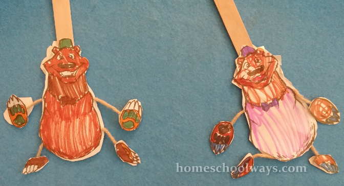 Dancing bear crafts