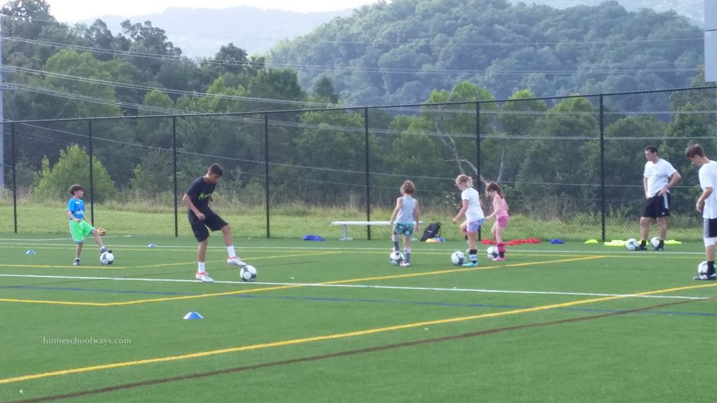 Soccer camp ages 7-9