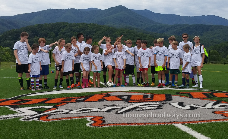 Smoky Mountain Soccer Academy - players and coaches