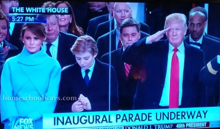 Barron Trump, Melania Trump, Donald Trump