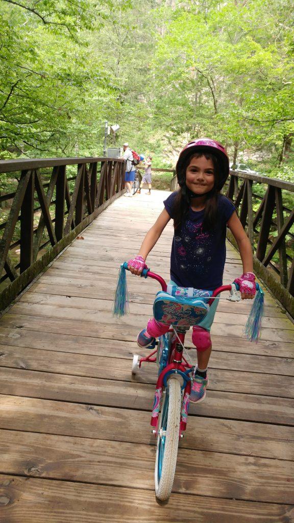 Gatlinburg Trail wooden bridge