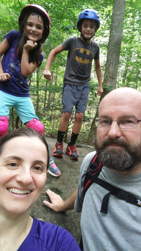 Family hike and bike in the Smokies