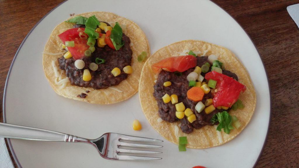 Eclipse lunch: tostadas
