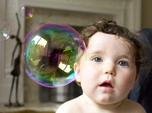 Baby Soap Bubble