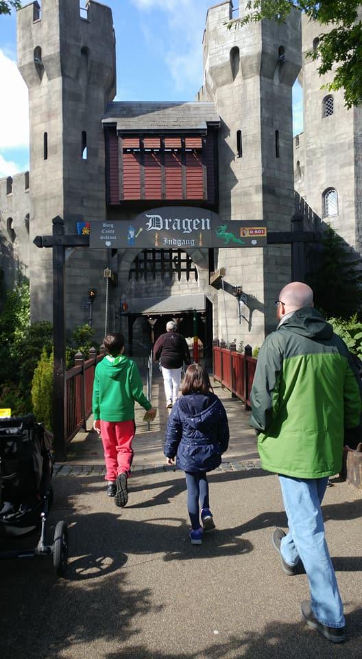 Dragon Castle Legoland Billund