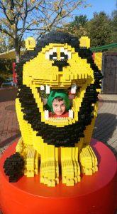 Legoland Billund Lion's Mouth Boy