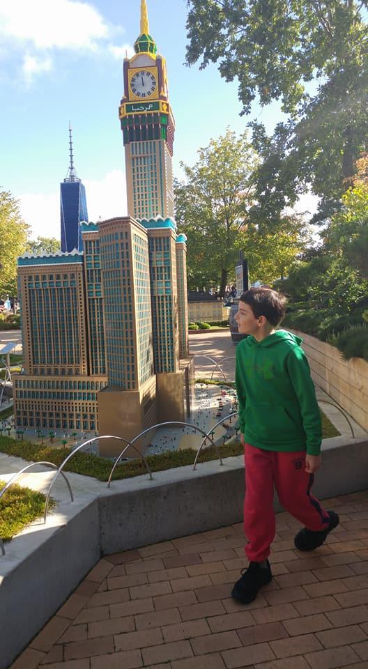 Boy at Miniland Legoland Billund