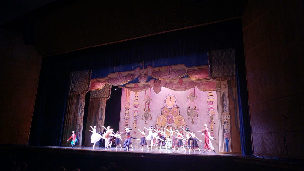 Scene from The Nutcracker Ballet