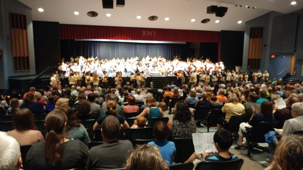 262 musicians playing Brandenburg Concerto No. 3