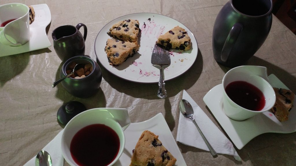 How to Prepare for College Webinar tea and scones
