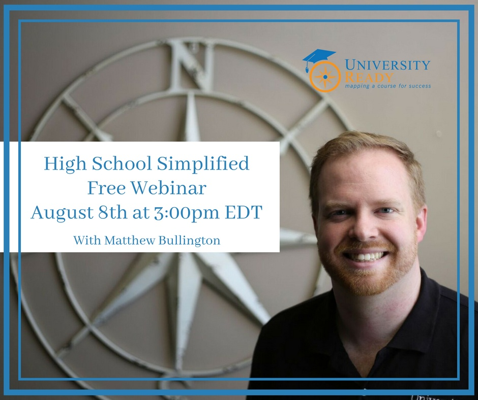 How to prepare for college webinar