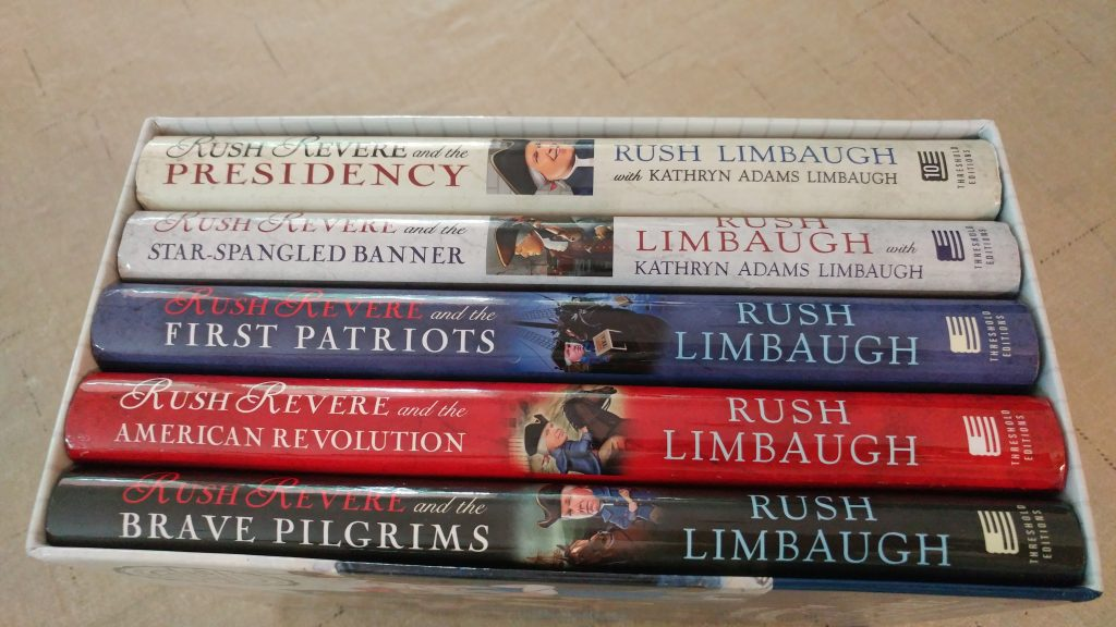 Rush Revere Book Series Box