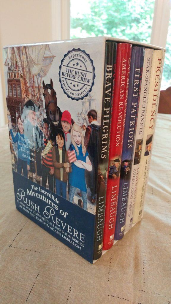 Rush Revere Book Series