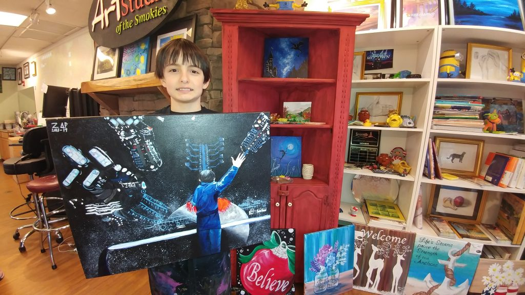 Ender's Game Painting