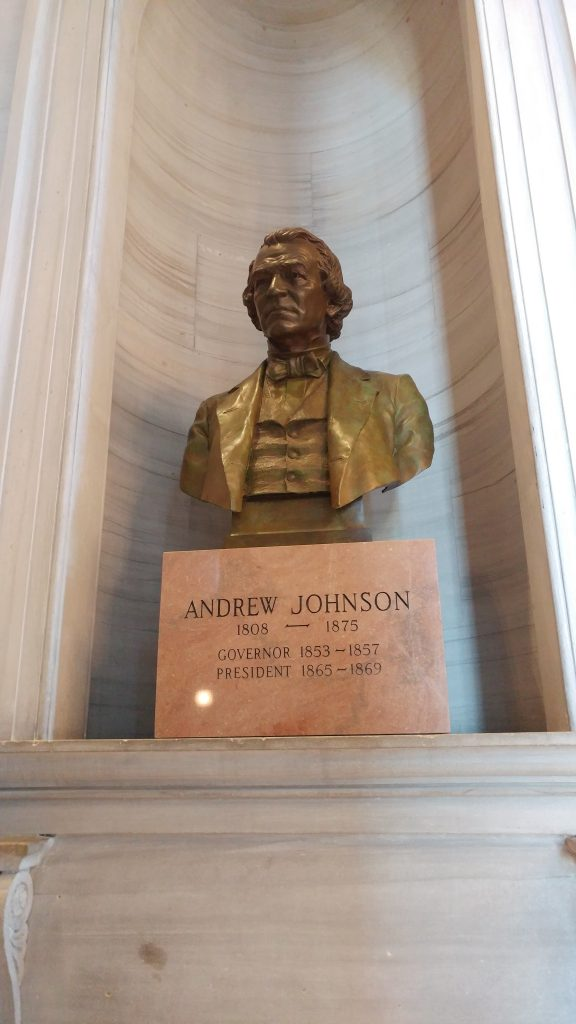 Andrew Johnson Bust