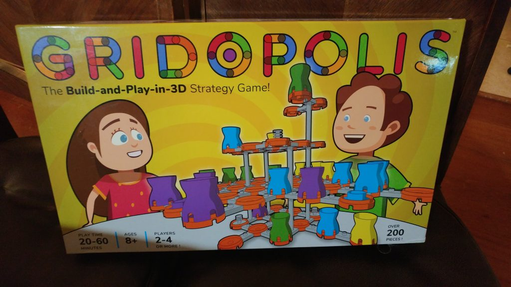 Gridopolis Game Box