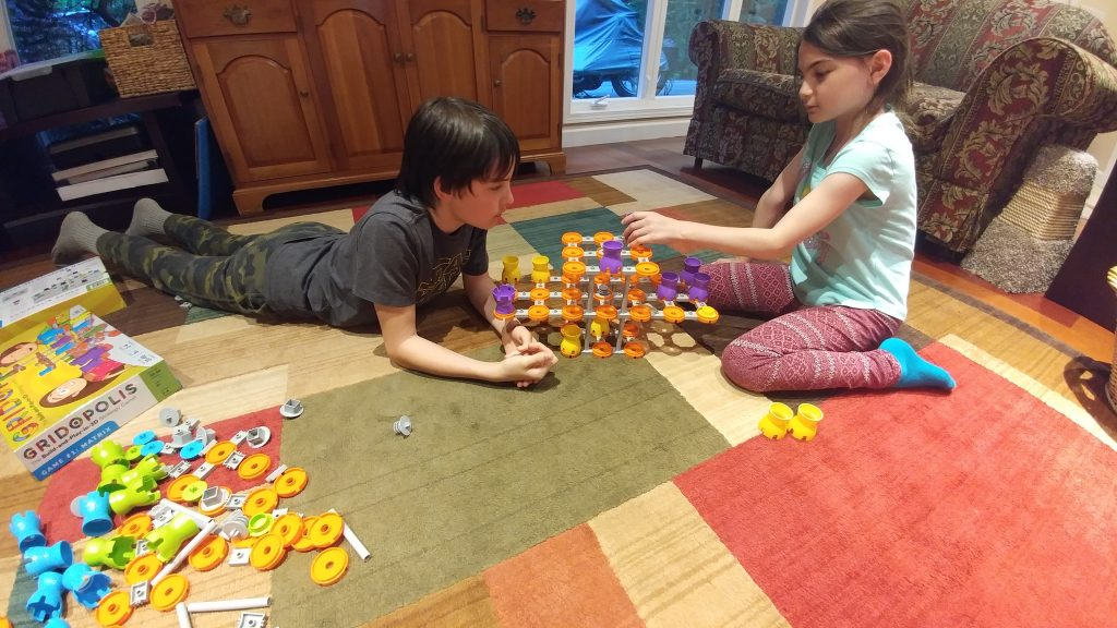 Playing Gridopolis