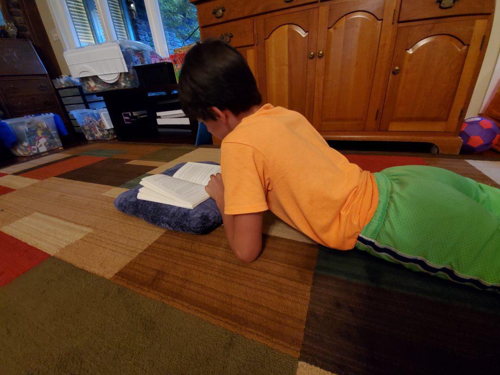 Reading Math Island