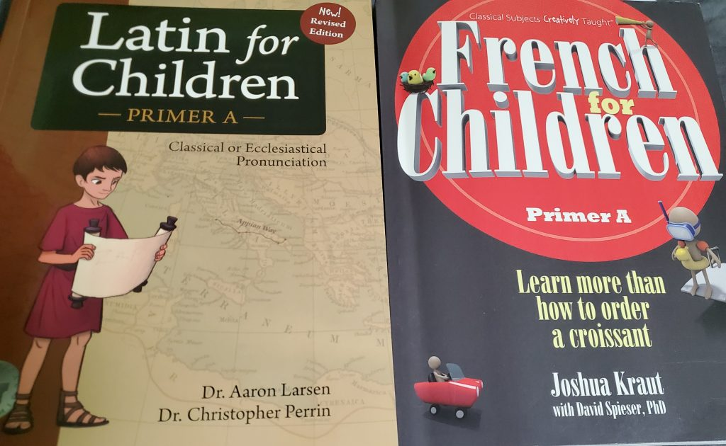 Latin and French for Children