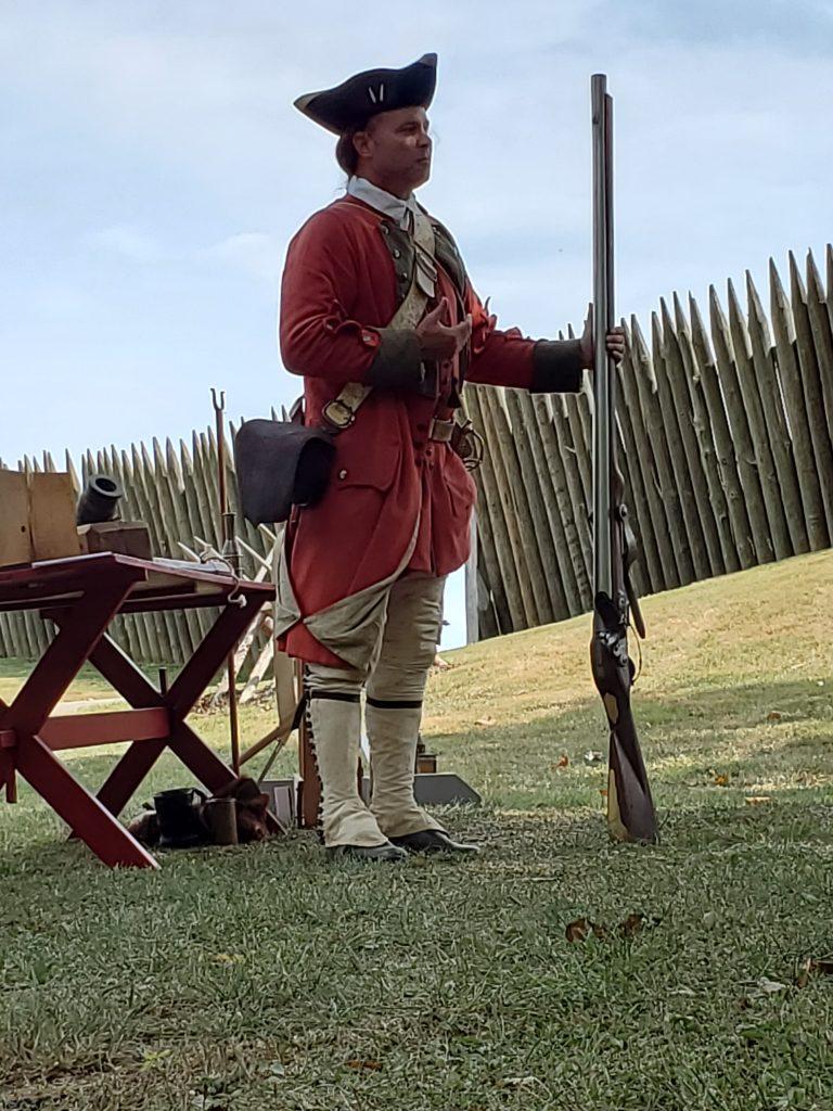 Fort Loudon Park Ranger