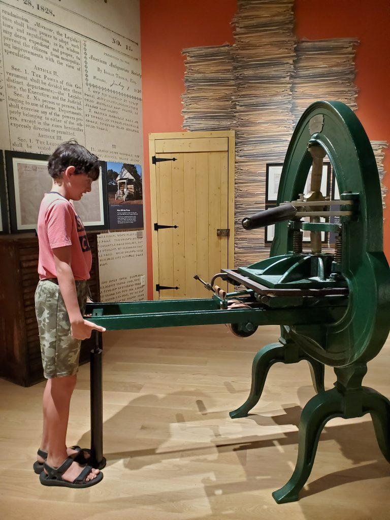 Cherokee Printing Press