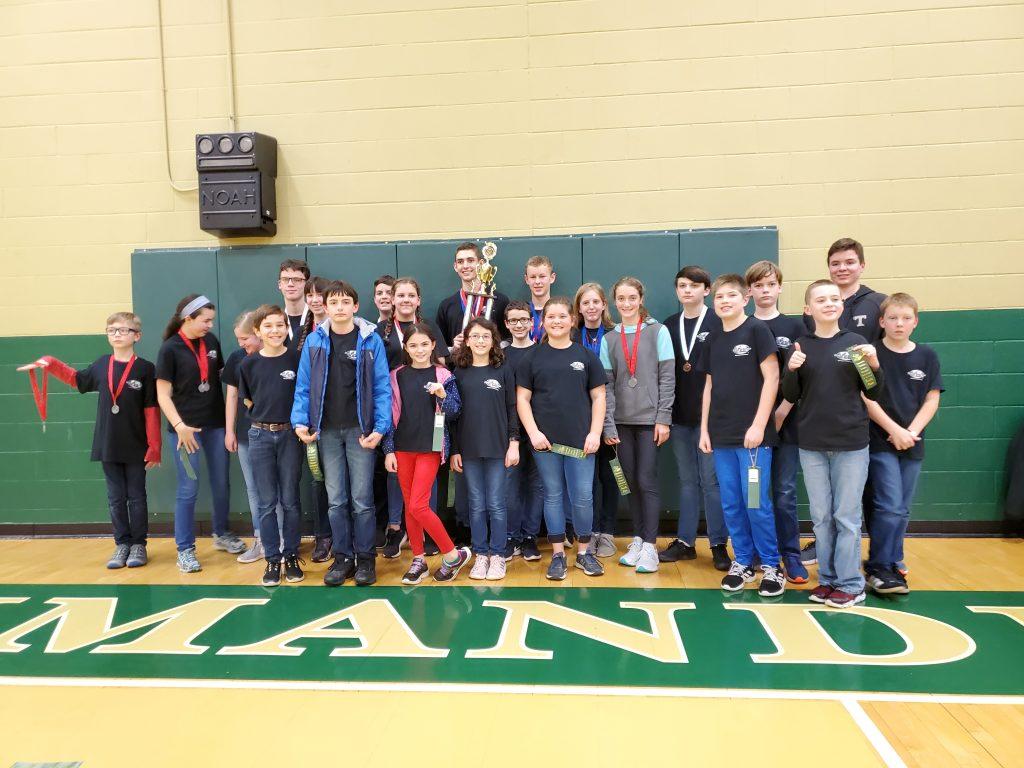 Cedar Springs Homeschool Science Olympiad Team