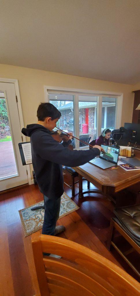 Skype violin lessons