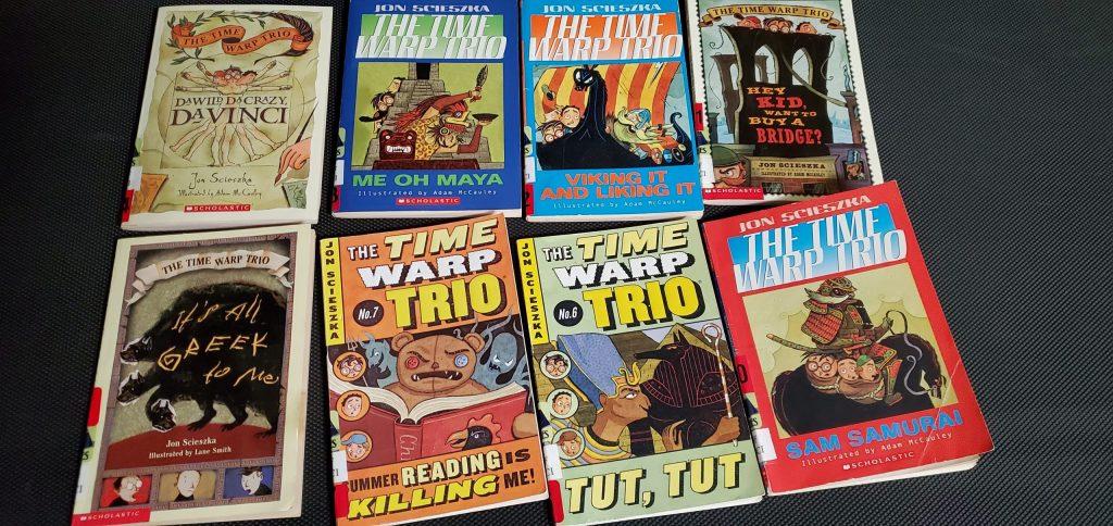 Time Warp Trio Books