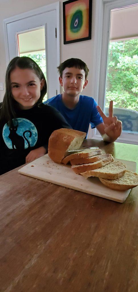 Honey Banana Wheat Bread
